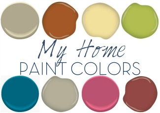 My Home Paint Colors