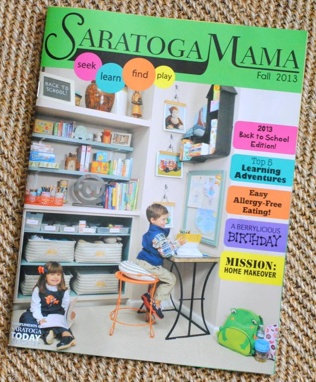 Fall Issue of Saratoga Mama Magazine