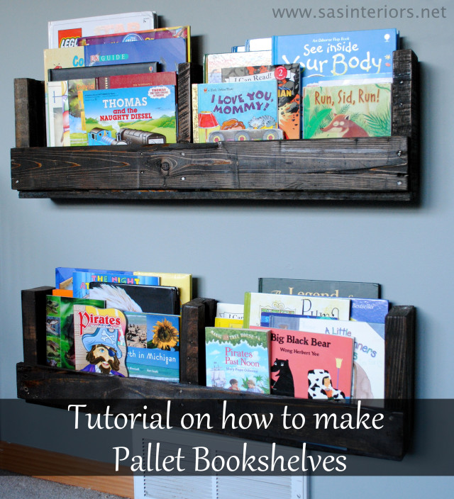#DIY: Pallet Bookcase