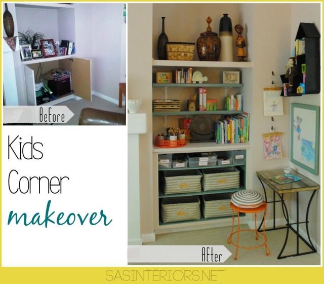 Kids Corner Makeover