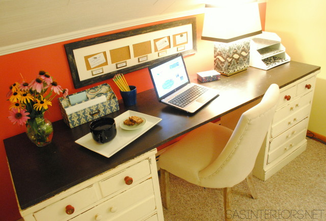 Office Makeover in one day + on a budget
