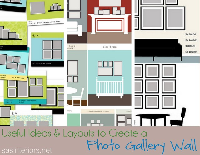 Useful Ideas and Layouts to Create a Photo Gallery Wall