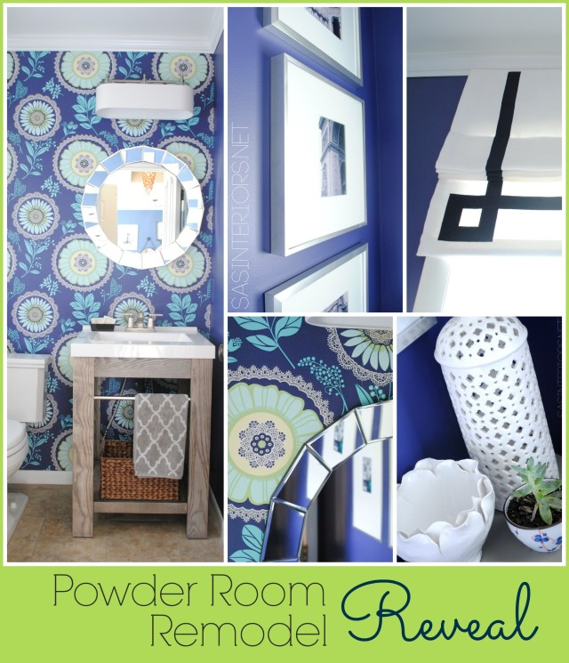 Powder Room Reveal