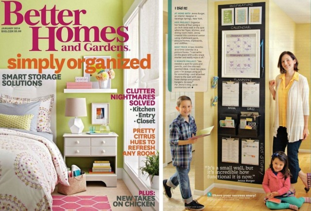 @Jenna_Burger featured in the I Did It section of Better Homes and Gardens January 2014