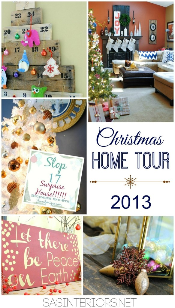 Jennifer Rizzo Holiday House Tour 2013; Stop 17, SAS Interiors