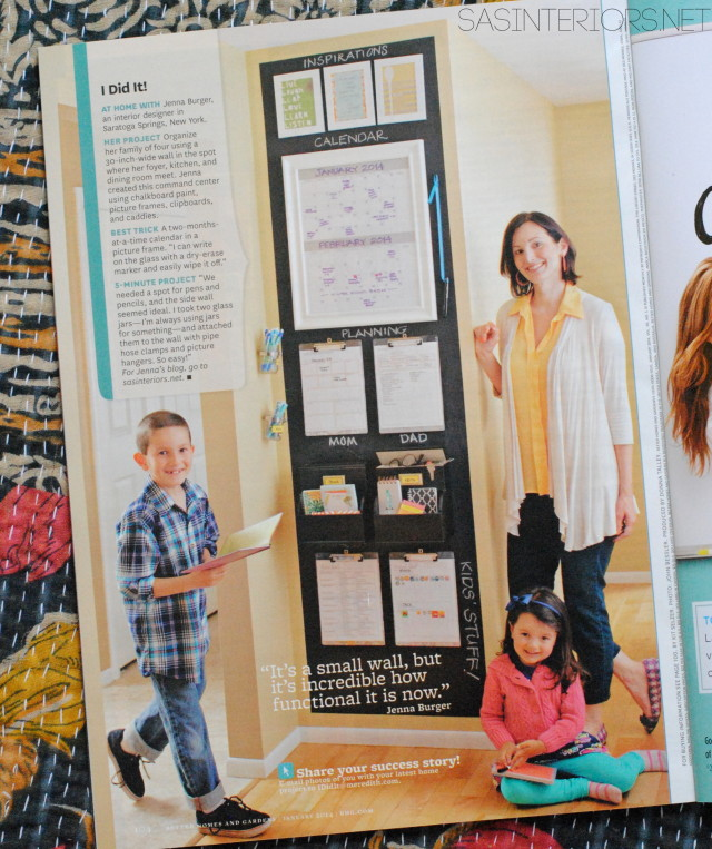 I Did It feature in January 2014 issue of Better Homes and Gardens - @Jenna_Burger of SAS Interiors, WWW.JENNABURGER.COM