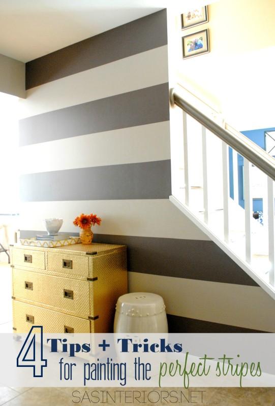 Creating Perfect horizontal stripes
