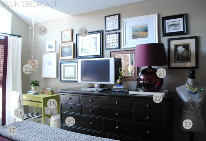 All the RESOURCES for the Master Bedroom Refresh {REVEAL} : Room transformation with inexpensive solutions + DIY projects! You will surely be INSPIRED!