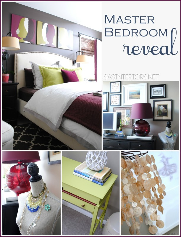 Master Bedroom Refresh {REVEAL} : Room transformation with inexpensive solutions + DIY projects! You will surely be INSPIRED!