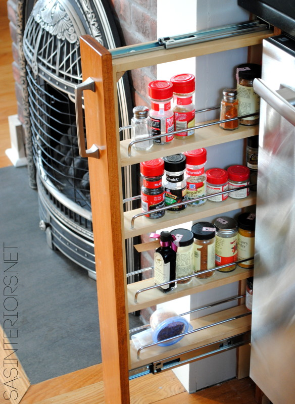 New spice rack for the kicthen remodel