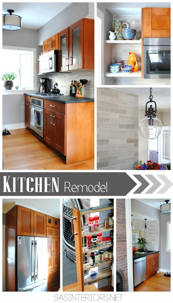 Kitchen Remodel: Integrating / Reusing existing Ikea cabinets with new custom cabinets to match. Transformation is INCREDIBLE!