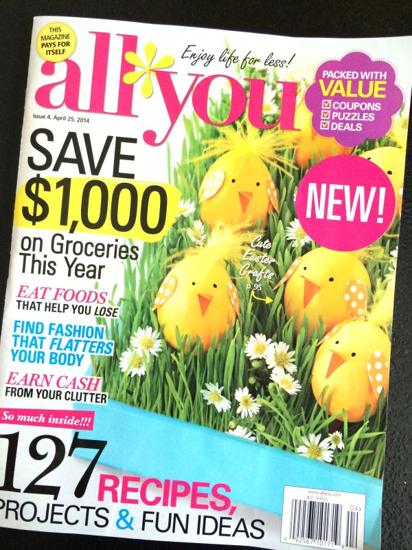 All You magazine is filled with so many great ideas for Easter Egg Dying!