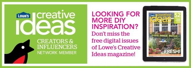 Lowes Creative Team Member Badge - Spring 2014