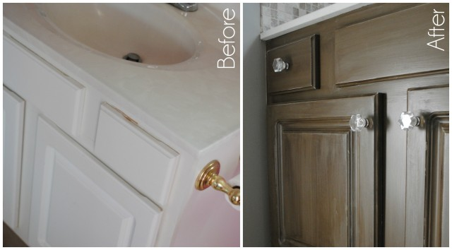 Jazz up an old cabinet with new hardware!