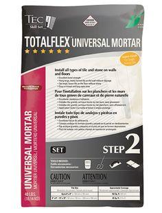 Totalflex Universal Mortar tile adhesive
