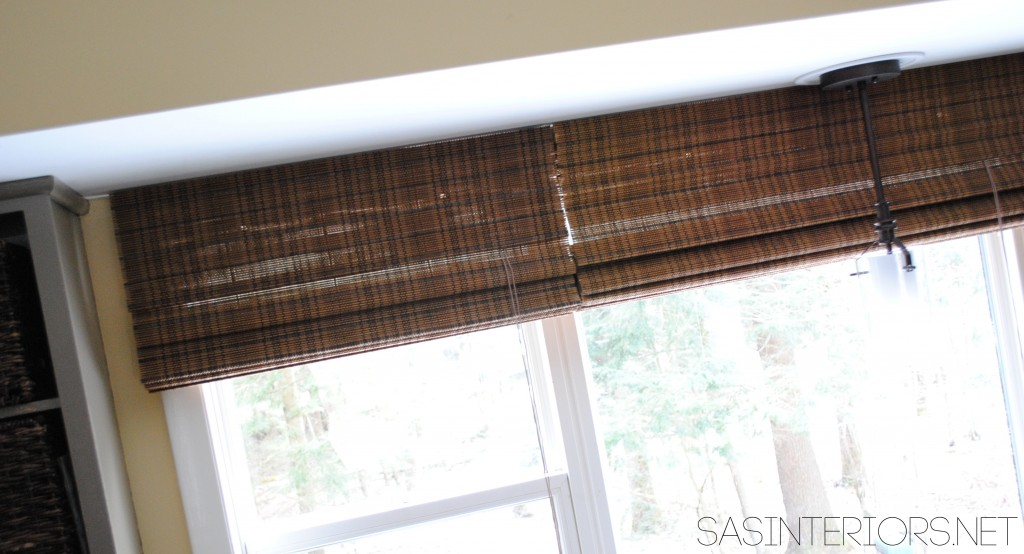 Kitchen Window Revamp - A simple upgrade for a large kitchen window via @Jenna_Burger, sasinteriors.net
