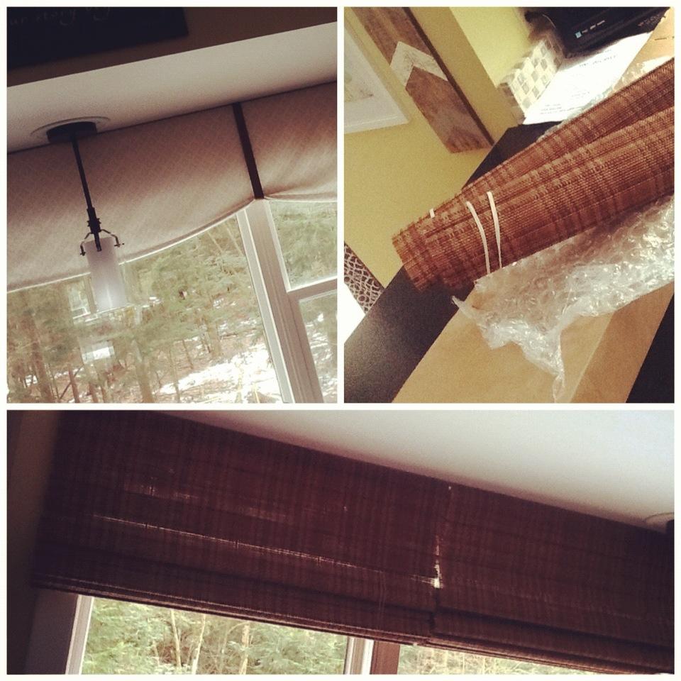 Kitchen Window Revamp - A simple upgrade for a large kitchen window via @Jenna_Burger, sasinteriors.net