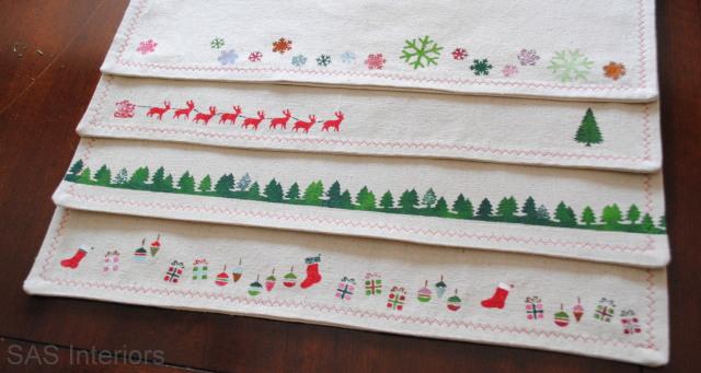 Christmas Stenciling Ideas