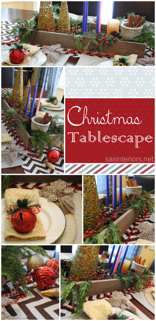 Christmas Holiday Tablescapea