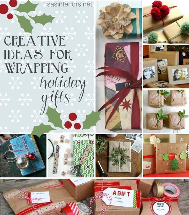 Creative Ideas for Wrapping Holiday Gifts