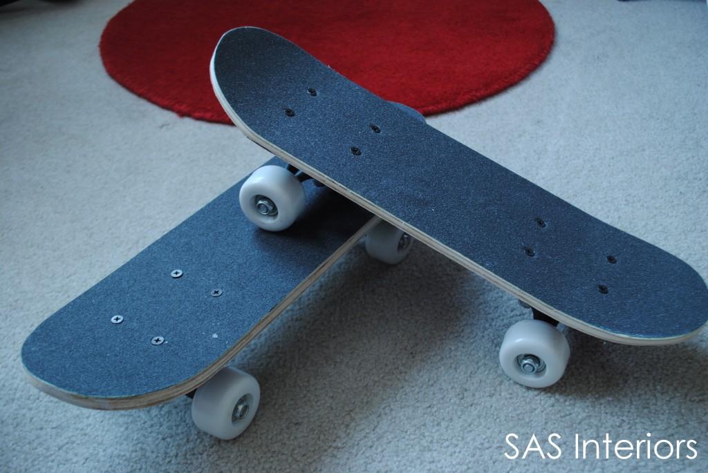 Skateboard shelves jenna burger to make sure the skateboards were properly solutioingenieria Images