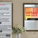 Virtual Fan Deck + Benjamin Moore