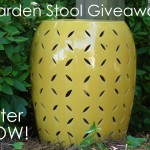 Garden Stool Giveaway