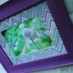 DIY_Missoni Picture Frame