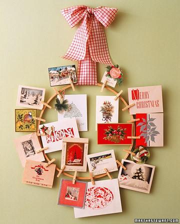 15 creative ways to display christmas cards jenna burger