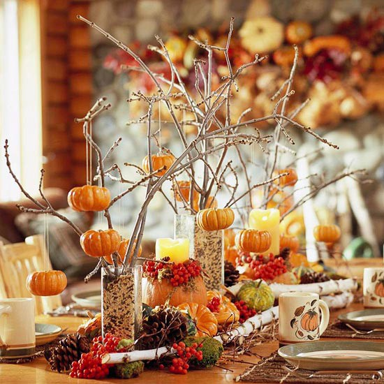 Thanksgiving Table thanksgiving table settings and centerpieces - jenna burger