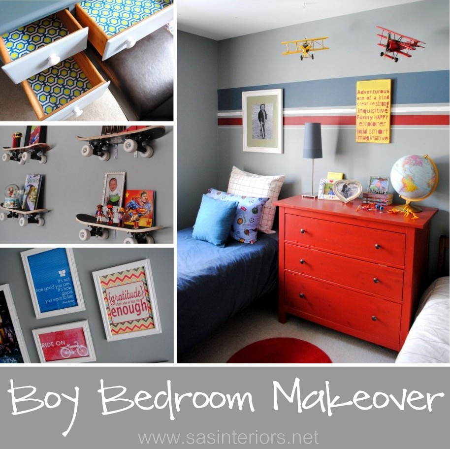 Boy Bedroom Makeover {Reveal} - Jenna Burger