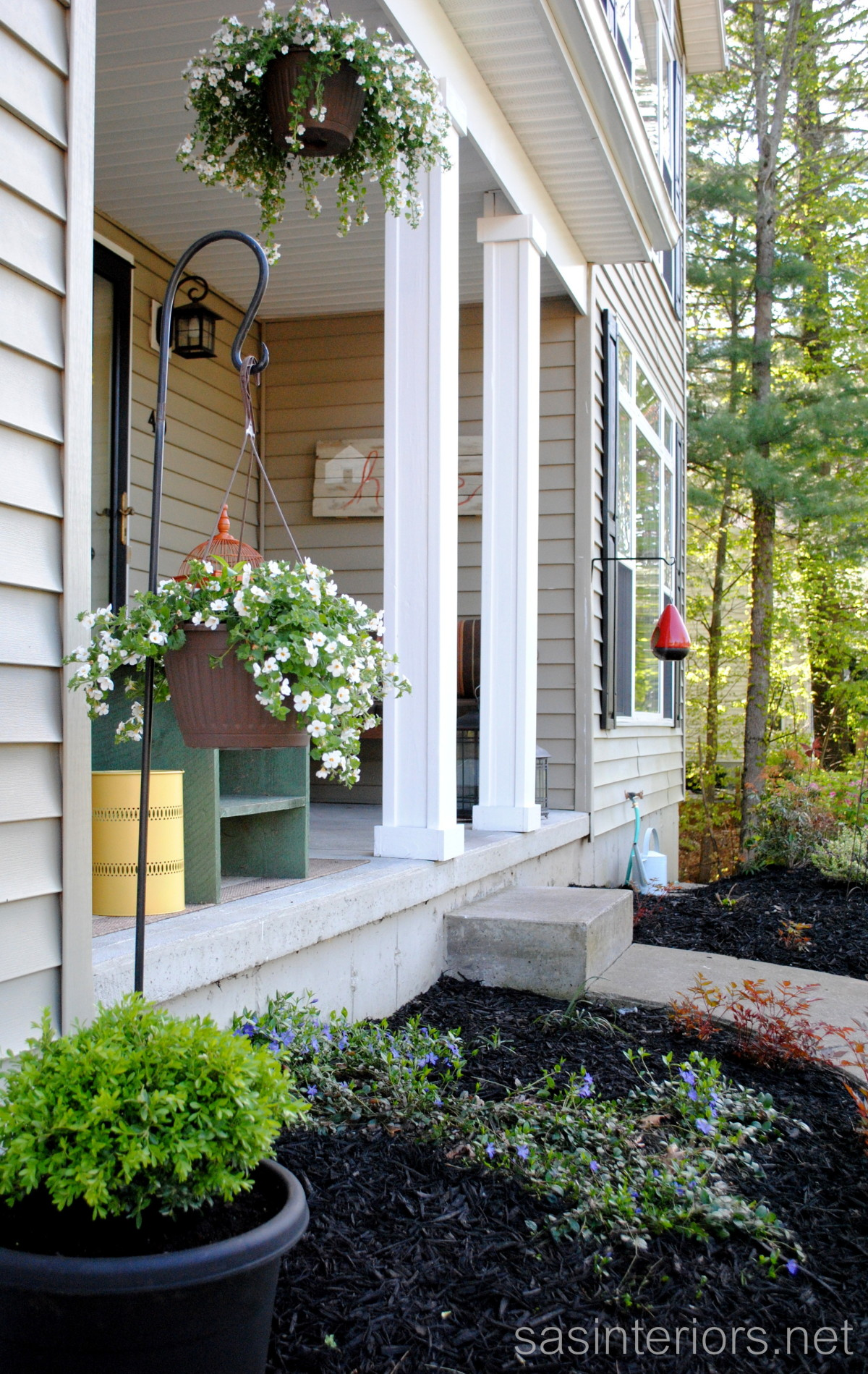 Spring Front Porch Reveal Jenna Burger