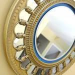 Upcycled Clock Turned Sunburst Mirror