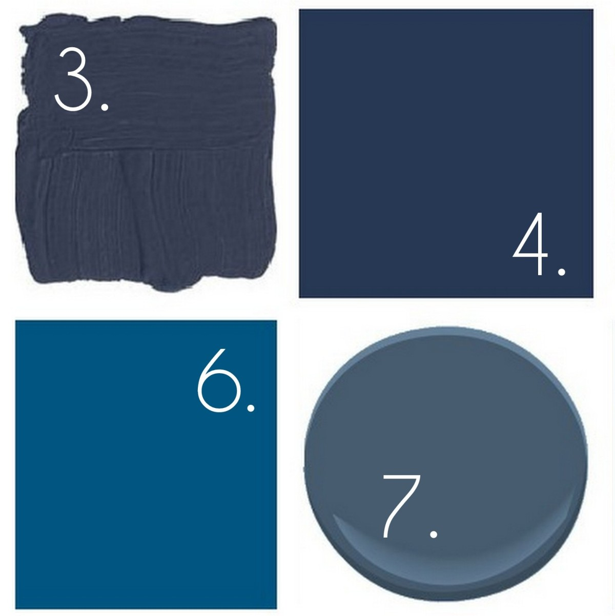 Dark blue paint colors - Dark Blue Paint Colors