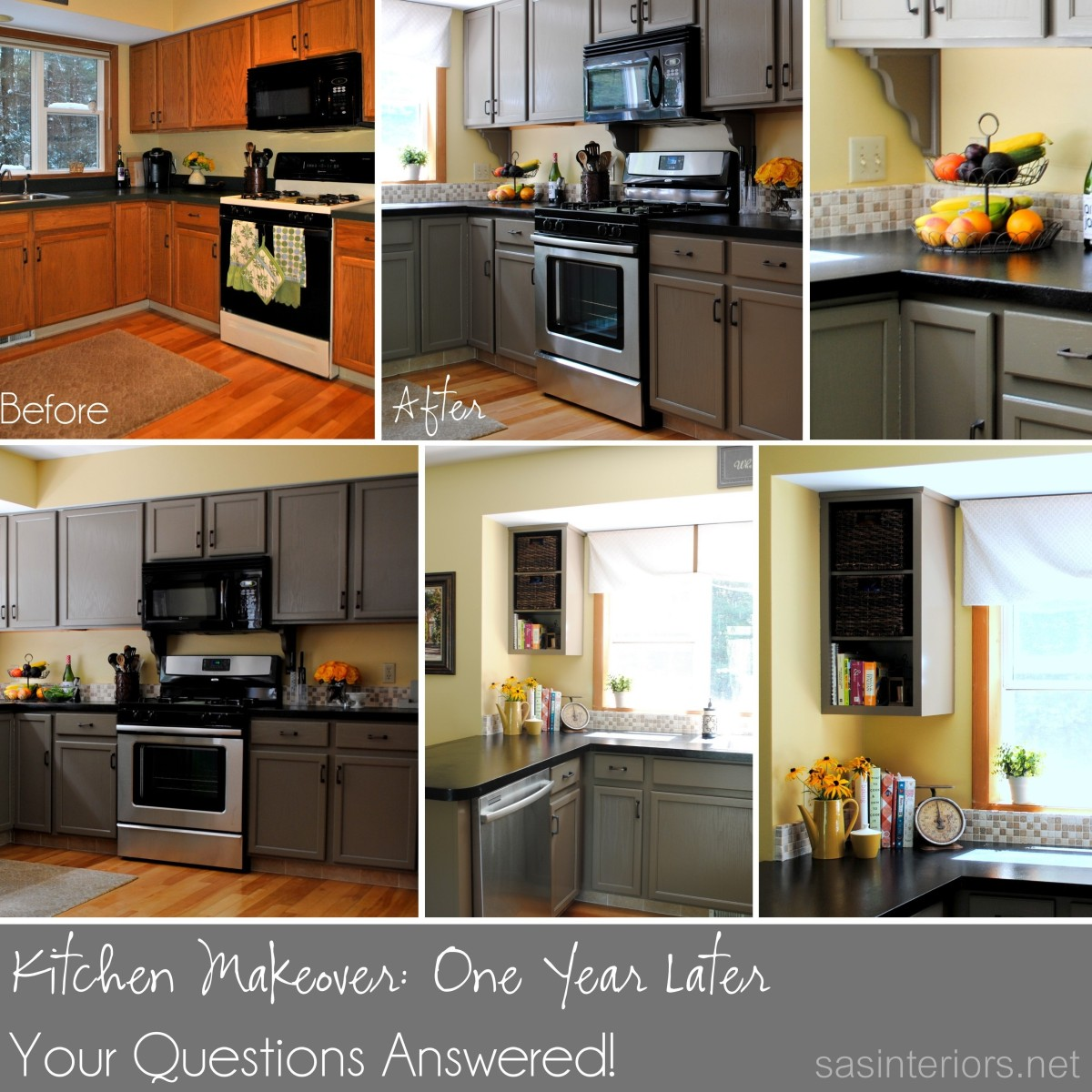 Kitchen Updates Before And After: Kitchen Makeover Update: One Year Later