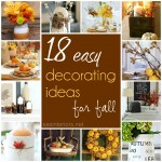 18 Easy Decorating Ideas for Fall
