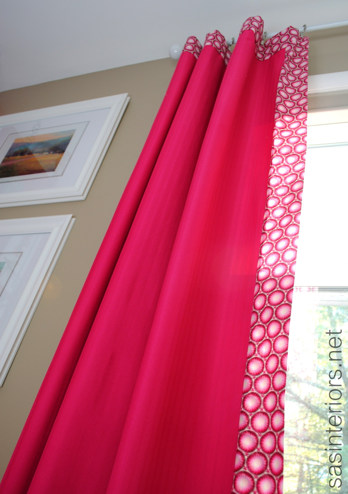 How To Add Decorative Trim To Curtains For Cheap Jenna