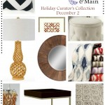 Joss and Main Hoiday Curators Collection starting Dec 2 @ sasinteriors.net