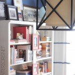 Creative Ideas for designing a Home Office / Family Room. Giant Inspiration Board by @Jenna_Burger via sasinteriors.net