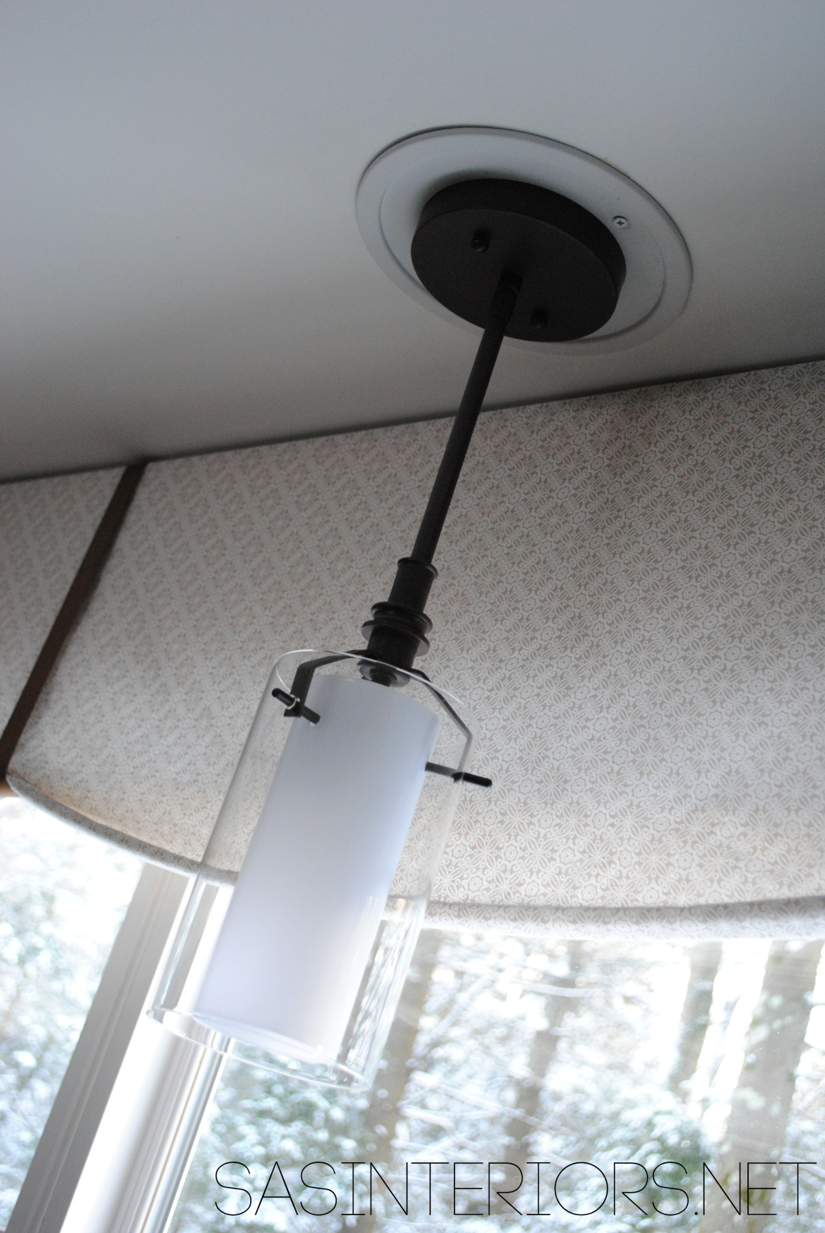 Easily Change a Recessed Light to a Decorative Hanging Fixture ...
