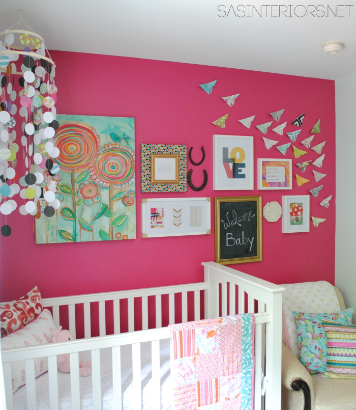 Nursery Nook created by Jenna Burger Design