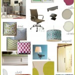 Creative and Inspiring Craft Room Mood Board by @Jenna_Burger, sasinteriors.net