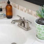 Before and After Bathroom Faucet Upgrade with Moen by @Jenna_Burger, SASinteriors.net