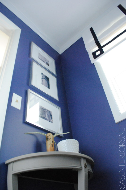 Powder Room Remodel {REVEAL} #powderroomremodel