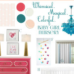 Baby Girl Room created by Jenna Burger of SASinteriors.net for Darlene of Fieldstone Hill