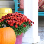 Fall Front Porch by @Jenna_Burger, sasinteriors.net