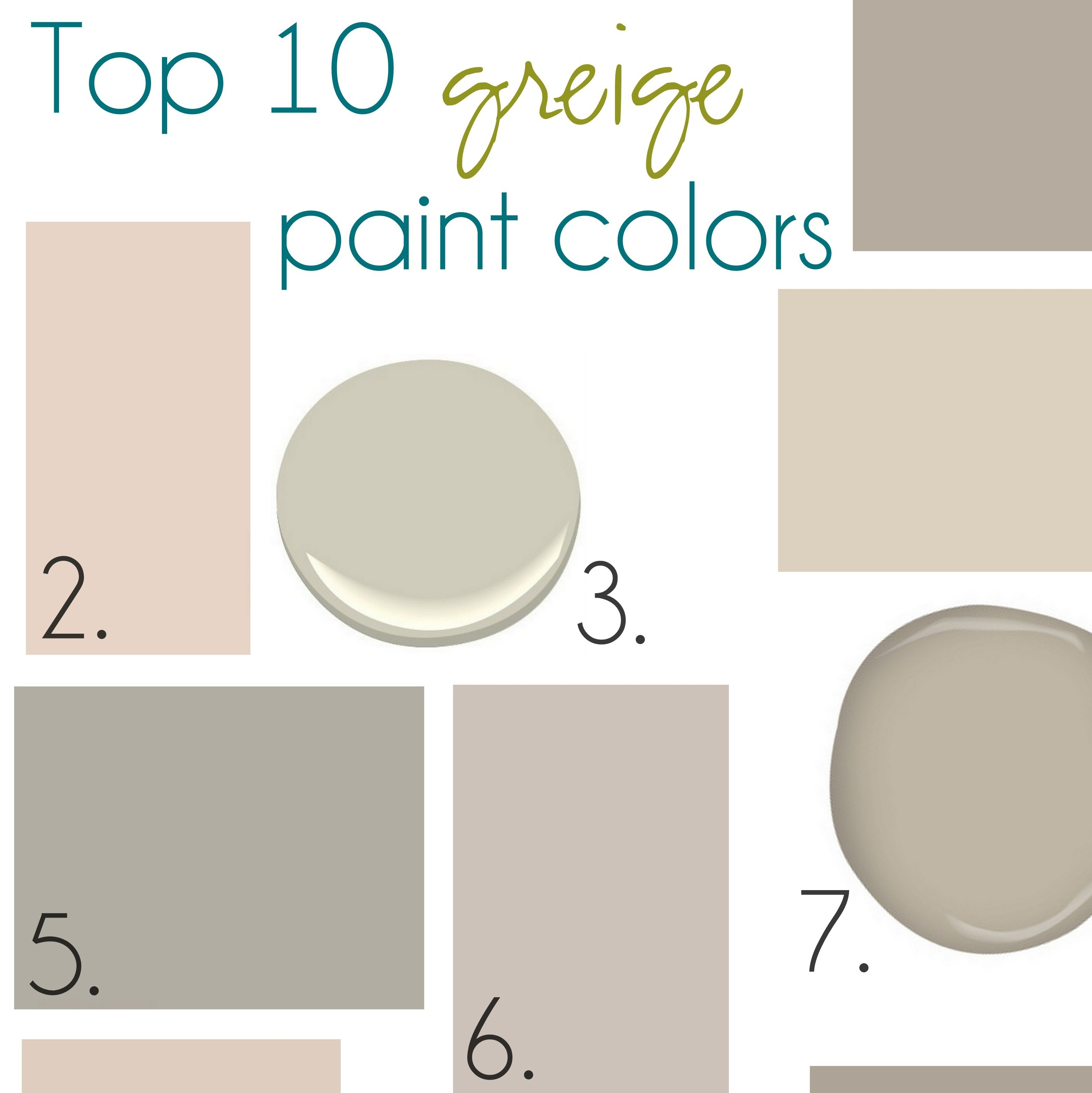 Gone With The Beige Hello Greige Jenna Burger: paint colors that go with beige