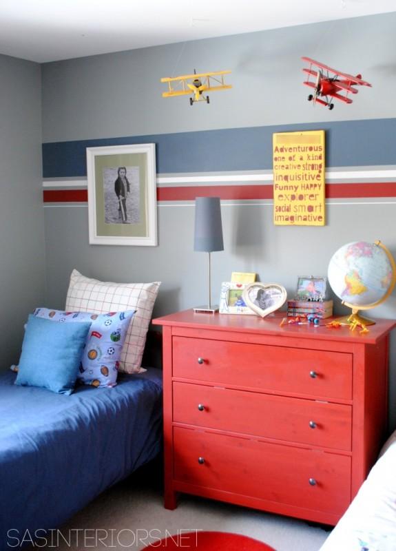 Boys Room Benjamin Moore Puritan Gray