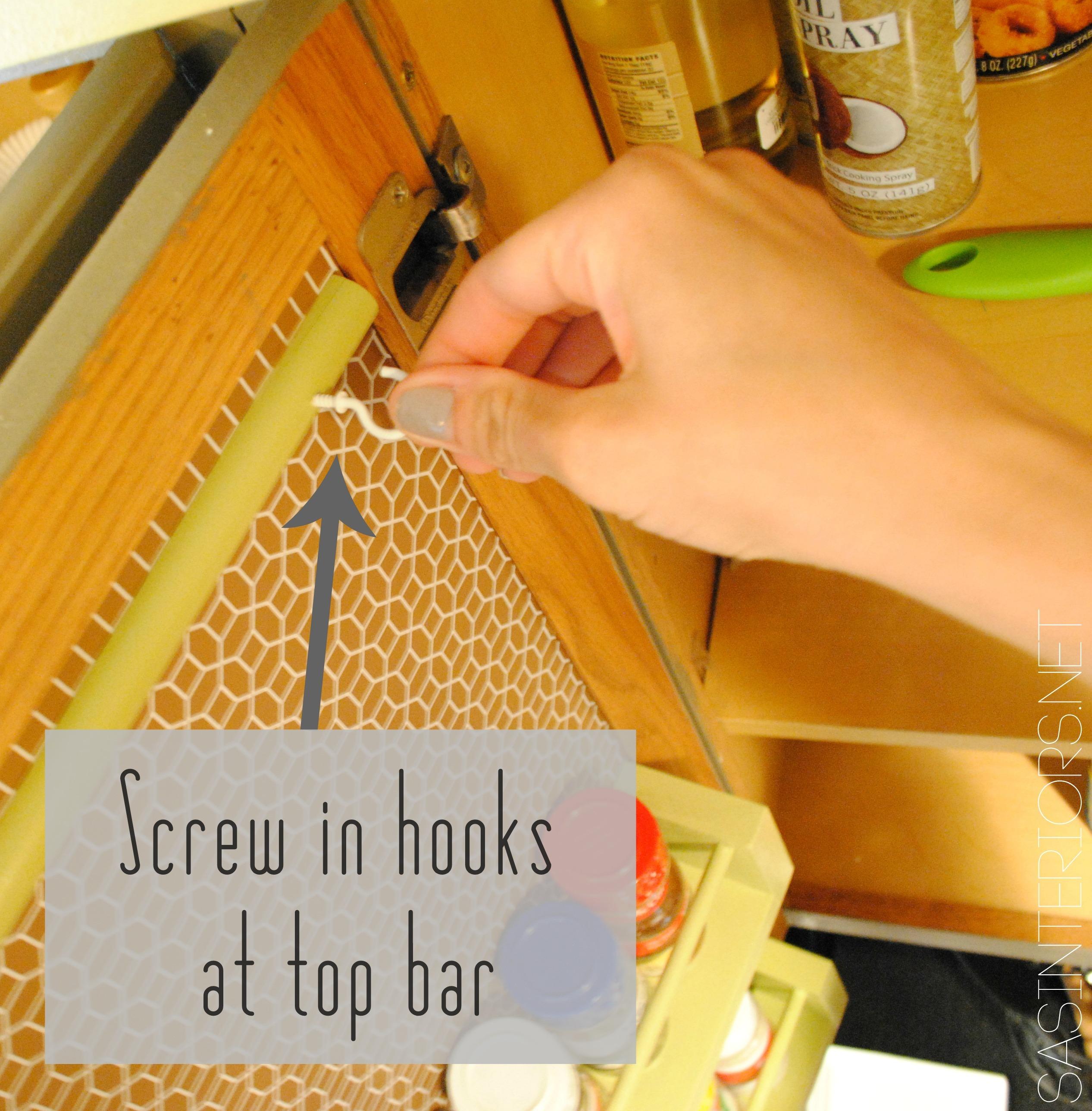 Kitchen Organization Ideas For The Inside Of The Cabinet Doors Jenna Burger Design Llc