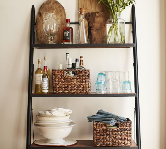 Decorating With Leaning Ladder Shelves Jenna Burger